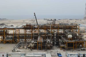 Refineries of South Pars phases 22&24 UNIT 100